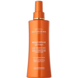 Institut Esthederm Bronz Impulse Spray Emulsion for Faster and Longer Lasting Tanning of Face and Body  150 ml