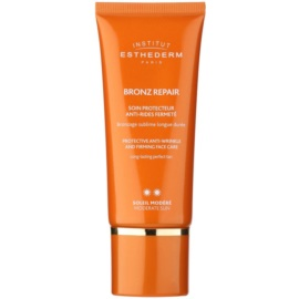 Institut Esthederm Bronz Repair Firming Anti-Wrinkle Moisturiser Medium Sun Protection  50 ml