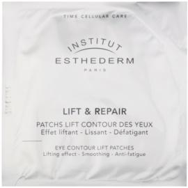 Institut Esthederm Lift & Repair стягаща очна маска под формата на лепенки (Cellular Care) 10 x 2 бр.