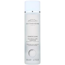 Institut Esthederm Osmoclean água micelar de limpeza para rosto e olhos  200 ml