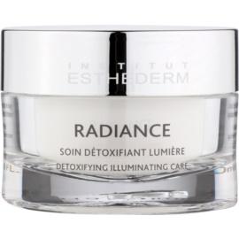Institut Esthederm Radiance crema contra los primeros signos del envejecimiento para iluminar y alisar la piel  50 ml