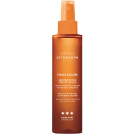 Institut Esthederm Sun Care Sun Oil for Body and Hair High Sun Protection  150 ml