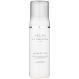 Institut Esthederm White System mousse nettoyante effet blancheur  150 ml