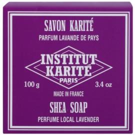 Institut Karité Paris Lavender Feinseife mit Bambus Butter  100 g