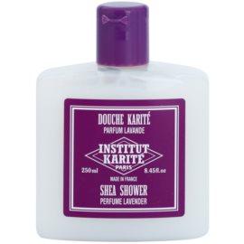 Institut Karité Paris Lavender feuchtigkeitsspendendes Duschgel mit nahrhaften Effekt  250 ml