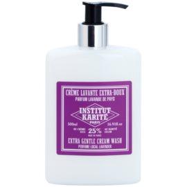 Institut Karité Paris Lavender Duschcreme zum nähren und Feuchtigkeit spenden  500 ml
