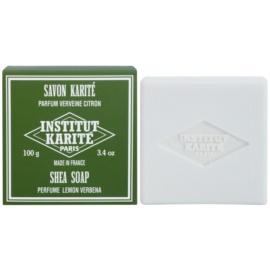 Institut Karité Paris Lemon Verbena tuhé mýdlo pro citlivou pokožku  100 g