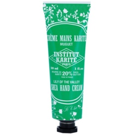 Institut Karité Paris So Chic Lily of the Valley crema nutritiva  para manos  30 ml