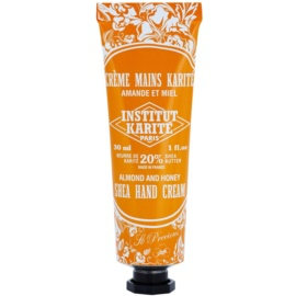 Institut Karité Paris So Precious Almond & Honey tápláló krém kézre  30 ml