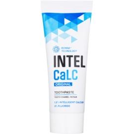 INTELCaLC Original pasta dentífrica para proteger y fortalecer el esmalte dental sin flúor  75 ml