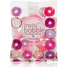 InvisiBobble Original Cheatday inel de par invizibil 3 pc I smell like Donuts