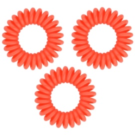 InvisiBobble Original Secret Garden gumička do vlasů 3 ks Sweet Clementine