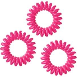 InvisiBobble Traceless Hair Ring elástico de cabelo 3 pçs tom pink