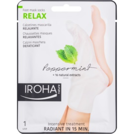 Iroha Relax osvěžující maska na nohy
