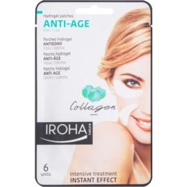 Iroha Anti - Age Collagen masque anti-rides yeux et lèvres 3 x 2 pcs
