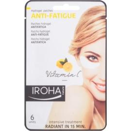 Iroha Anti - Fatigue Vitamin C maska hydrożel wokół oczu 3 x 2 szt.