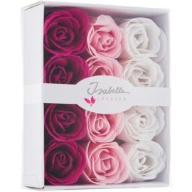 Isabelle Laurier Soap Confetti Roses mýdlové růže do koupele  12 x 4 g
