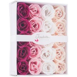 Isabelle Laurier Soap Confetti Roses mýdlové růže do koupele  20 x 4 g