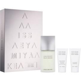 Issey Miyake L'Eau D'Issey Pour Homme Gift Set  XVI.  Eau de Toilette 75 ml + Aftershave balsem  50 ml + Douchegel 50 ml