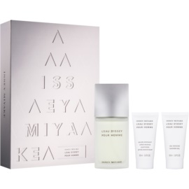Issey Miyake L'Eau D'Issey Pour Homme Gift Set XVI.  Eau De Toilette 75 ml + Aftershave Balm 50 ml + Shower Gel 50 ml