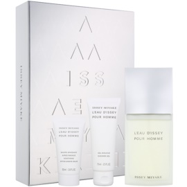 Issey Miyake L'Eau D'Issey Pour Homme Gift Set XVII.  Eau De Toilette 125 ml + Shower Gel 75 ml + Aftershave Balm 50 ml