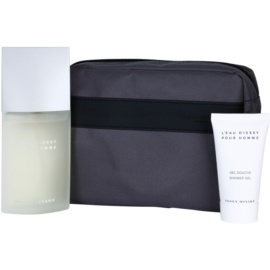 Issey Miyake L'Eau D'Issey Pour Homme Gift Set IV.  Eau De Toilette 125 ml + Shower Gel 75 ml + Cosmetic Bag