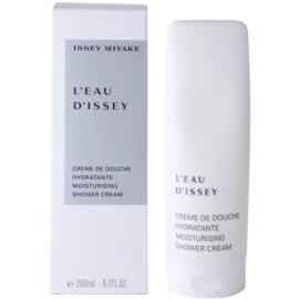 Issey Miyake L'Eau D'Issey crema doccia per donna 200 ml