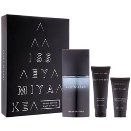 Issey Miyake Nuit D'Issey Geschenkset III.  Eau de Toilette 125 ml + Duschgel 75 ml + After Shave Balsam 50 ml