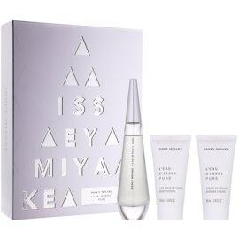 Issey Miyake L'Eau D'Issey Pure подарунковий набір ІІ  Парфумована вода 50 ml + Молочко для тіла 50 ml + Гель для душу 50 ml