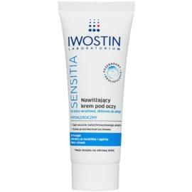 Iwostin Sensitia crema hidratante para contorno de ojos para pieles sensibles  25 g