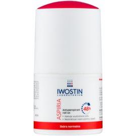 Iwostin Aspiria feuchtigkeitsspendender und beruhigender Antiperspirant-Deoroller mit Langzeitwirkung  50 ml
