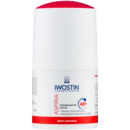 Iwostin Aspiria antitranspirante roll-on hidratante con efecto calmante prolongado  50 ml