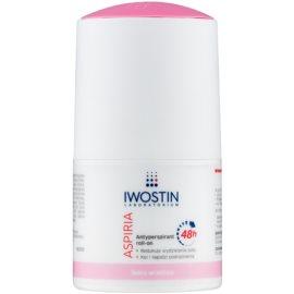 Iwostin Aspiria feuchtigkeitsspendender und beruhigender Antitranspirant-Deoroller  50 ml
