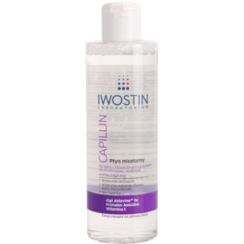 Iwostin Capillin Cleansing Micellar Water For Sensitive Skin Prone To Redness  215 ml