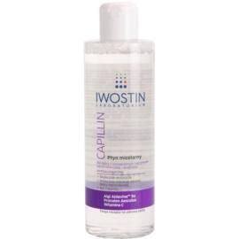 Iwostin Capillin tisztító micelláris víz Érzékeny, bőrpírra hajlamos bőrre  215 ml