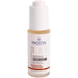 Iwostin Lucidin Perfectin exfoliante de noche profesional contra problemas de pigmentación  30 ml