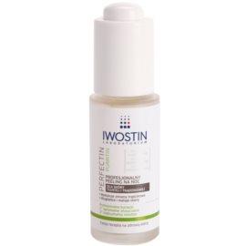 Iwostin Purritin Perfectin profesionální noční peeling pro mastnou pleť se sklonem k akné  30 ml