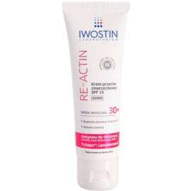 Iwostin Re-Actin Tagescreme gegen Falten LSF 15  40 ml