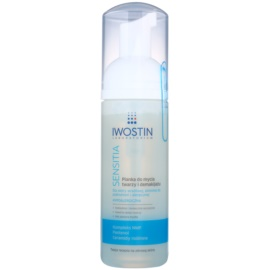 Iwostin Sensitia Cleansing Makeup Removing Foam For Sensitive And Allergic Skin  165 ml