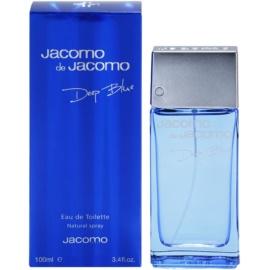 Jacomo Jacomo de Jacomo Deep Blue туалетна вода для чоловіків 100 мл