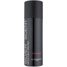 Jacques Bogart Silver Scent Intense testápoló spray férfiaknak 200 ml