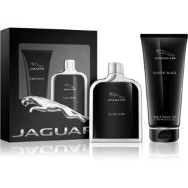 Jaguar Classic Black zestaw upominkowy I. woda toaletowa 100 ml + żel pod prysznic 200 ml