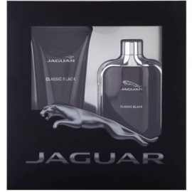 Jaguar Classic Black Geschenkset I. Eau de Toilette 100 ml + Duschgel 200 ml
