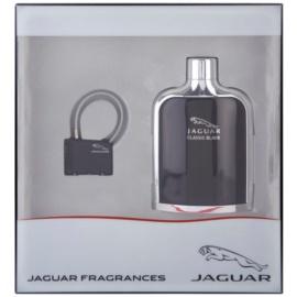 Jaguar Classic Black set cadou II.  Apa de Toaleta 100 ml + Lacat pentru bagaj