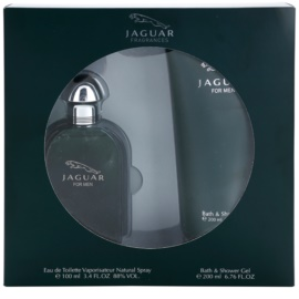 Jaguar Jaguar for Men Gift Set II.  Eau De Toilette 100 ml + Shower Gel 200 ml