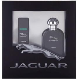 Jaguar Jaguar for Men подаръчен комплект IV. тоалетна вода 100 ml + тоалетна вода 15 ml