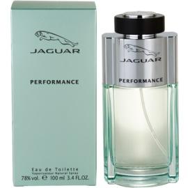 Jaguar Performance Eau de Toilette para homens 100 ml