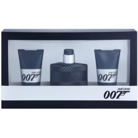 James Bond 007 James Bond 007 set cadou II.  Apa de Toaleta 50 ml + Gel de dus 2 x 50 ml