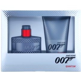 James Bond 007 Quantum darilni set I. toaletna voda 50 ml + gel za prhanje 150 ml