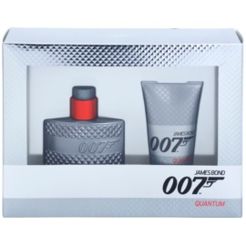 James Bond 007 Quantum darilni set III. toaletna voda 30 ml + gel za prhanje 50 ml